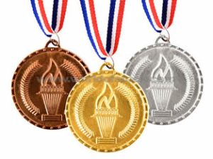 reading medals